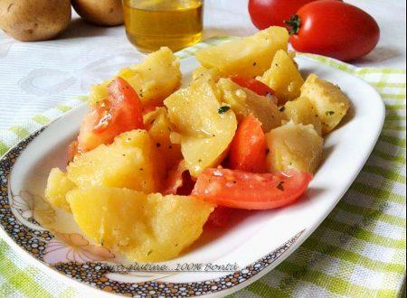 Insalata di patate fredda (ricetta economica e gustosa)