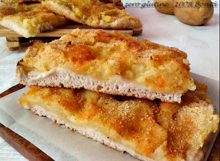 Focaccia con patate senza glutine