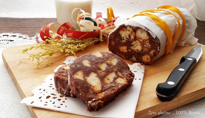 Salame Dolce di Nutella e Mascarpone