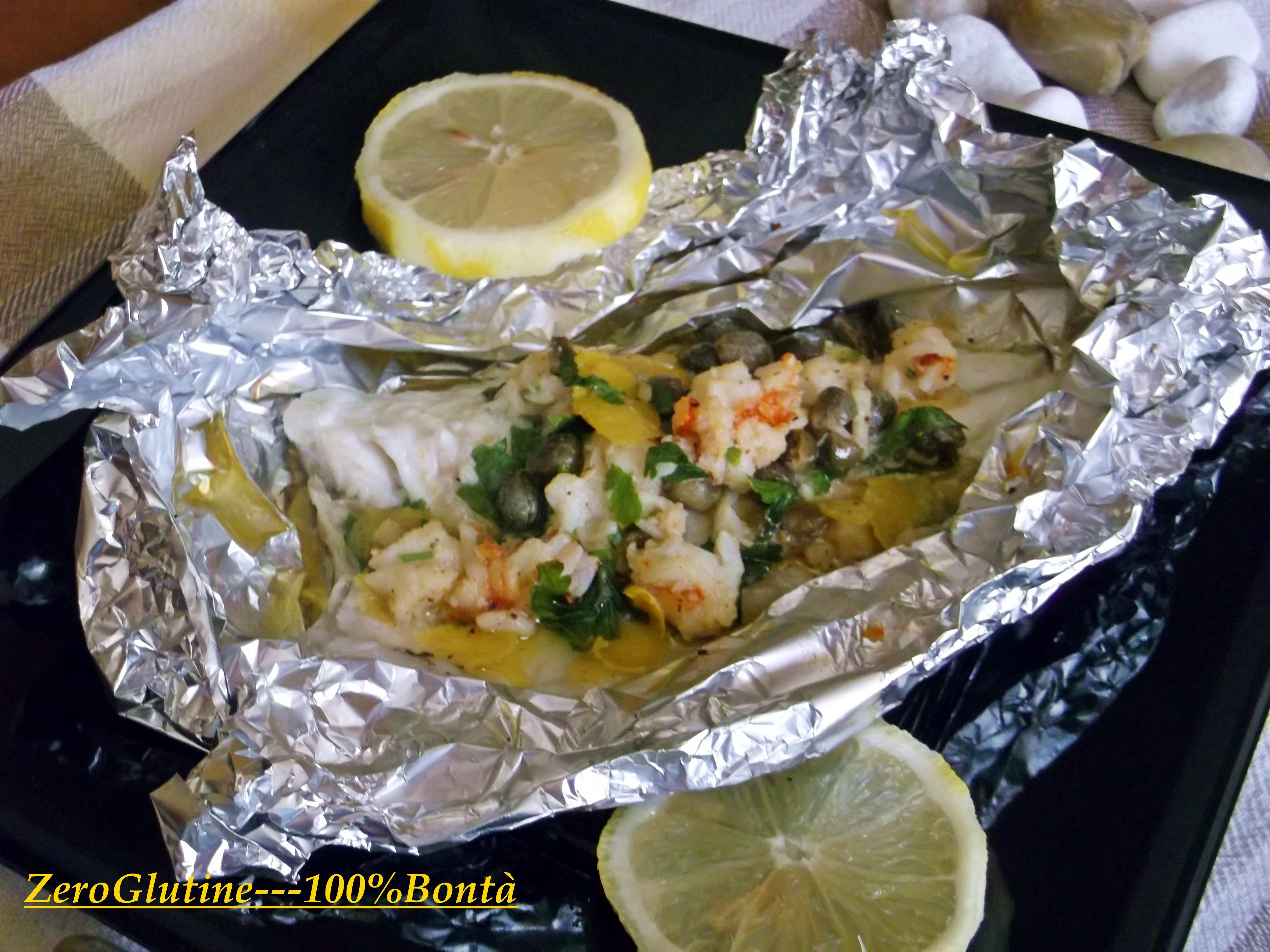 Ricetta filetti pesce cartoccio