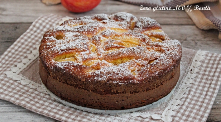 Torta di Mele Morbidissima Senza Glutine