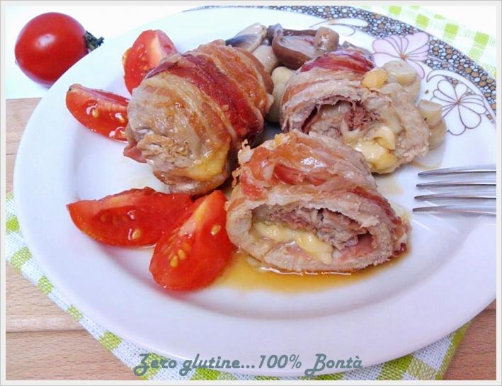 Involtini al bacon