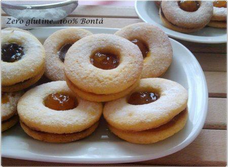 Biscotti occhio di bue senza glutine