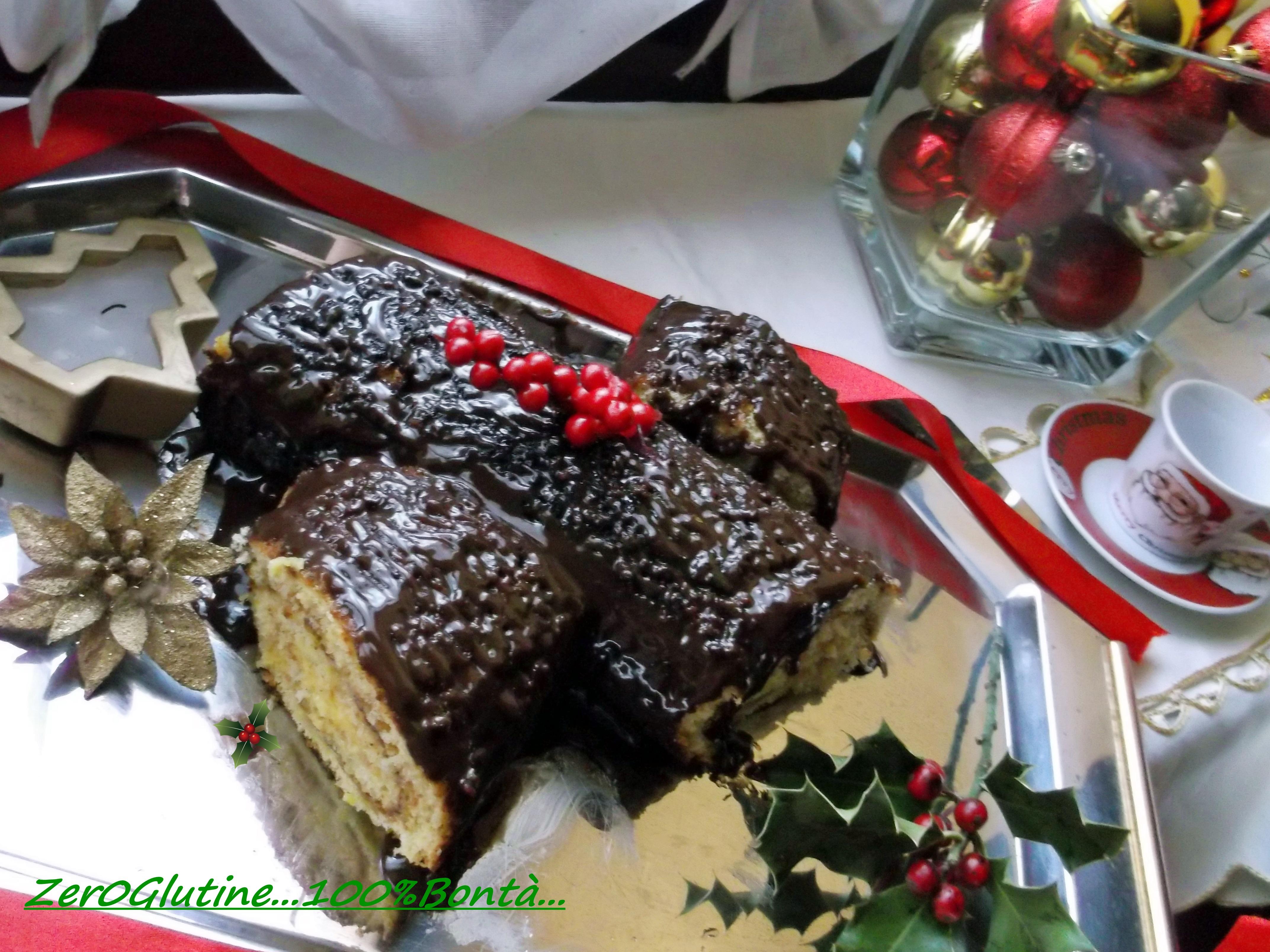 Dolci Natalizi Per Celiaci.Tronchetto Di Natale Senza Glutine