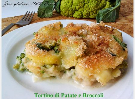 Tortino di patate e broccoli