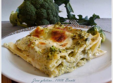 Lasagne con broccoli e mozzarella