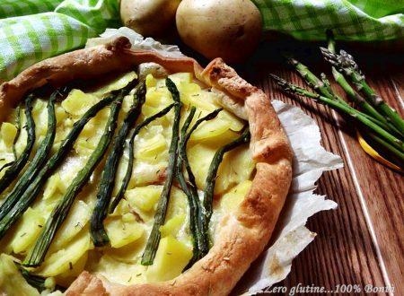 Torta salata di asparagi e patate