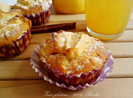 Muffin alle mele senza glutine