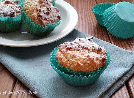 Muffin al cocco senza glutine