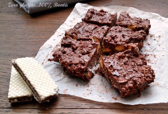 Brownies alla Nutella Senza Cottura