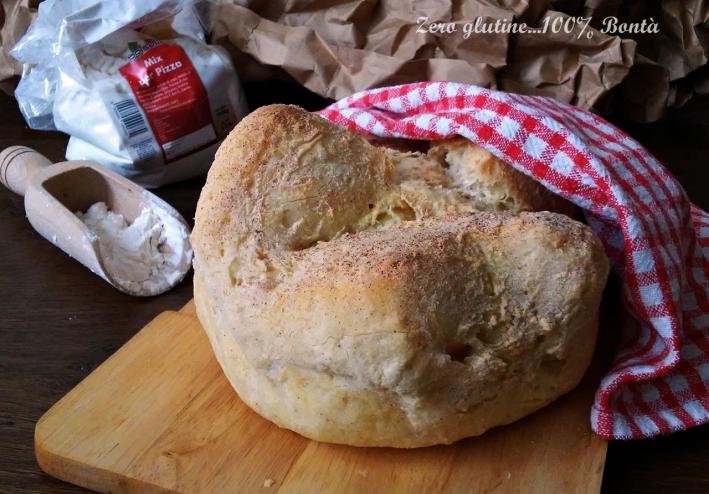 Pane senza glutine con farina Polselli
