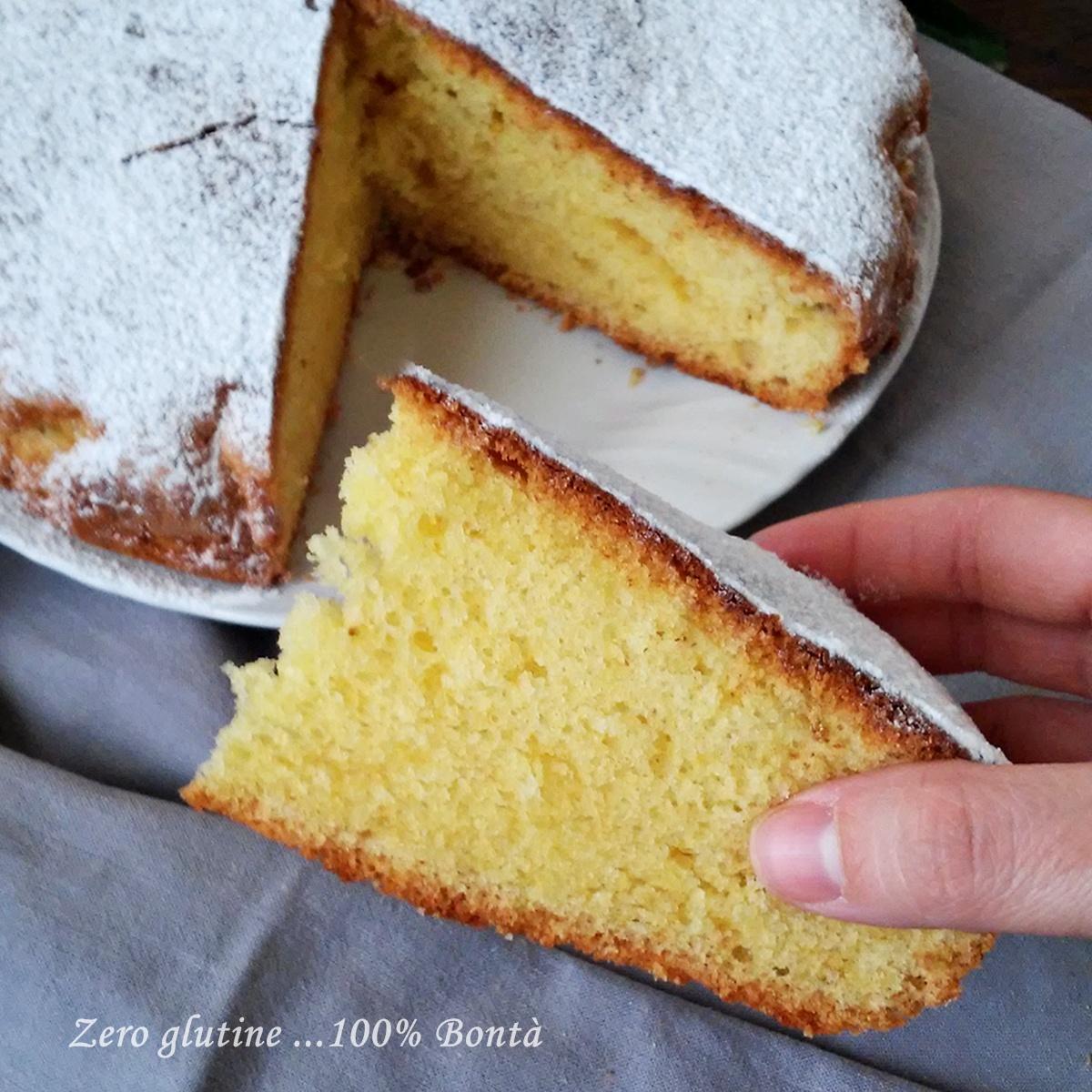 Top Torta all'arancia senza glutine e lattosio - zero glutine100% Bontà YV39