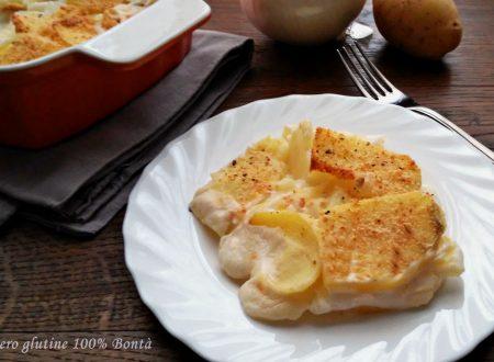 Parmigiana di patate e cipolle