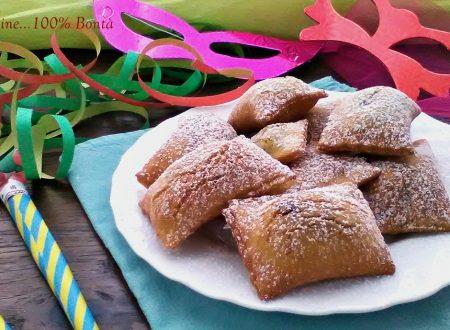 Ravioli dolci ripieni di nutella (senza glutine)