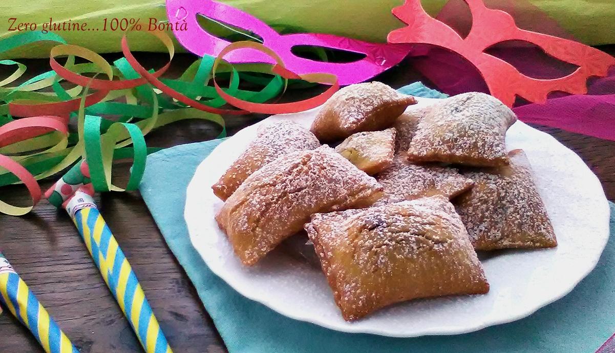 Ravioli dolci ripieni di nutella (senza glutine )