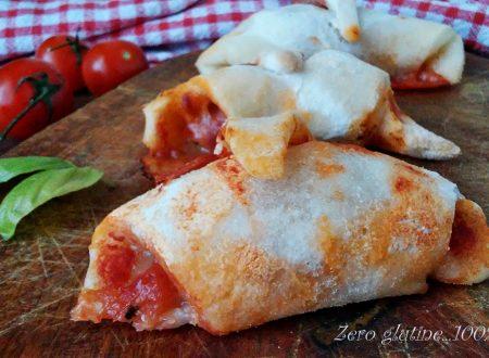 Cornetti alla pizza senza glutine