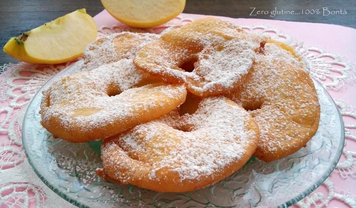 Frittelle di mela senza glutine