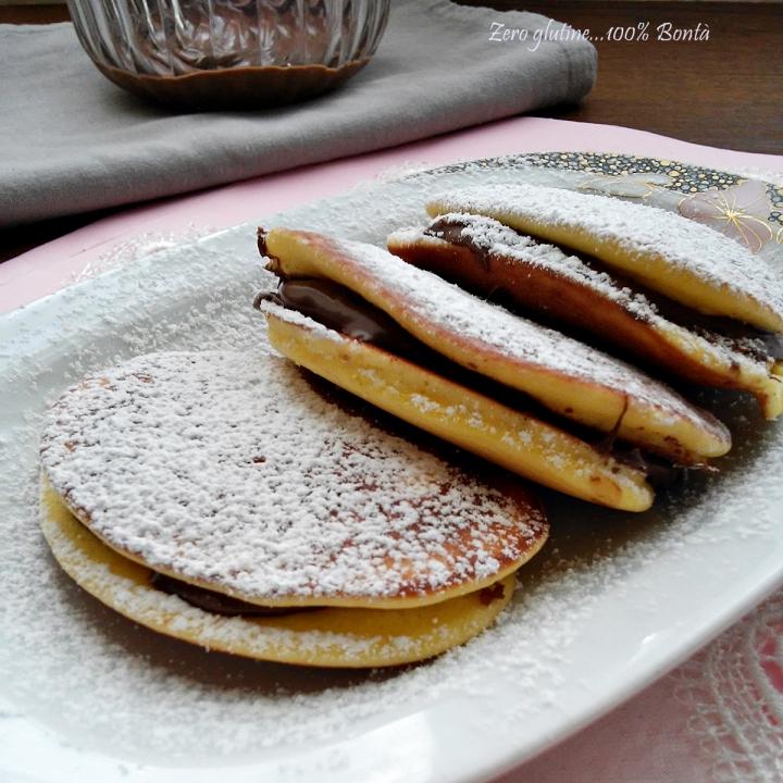 Dorayaki senza glutine