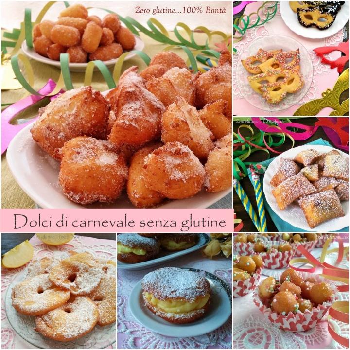Dolci di carnevale senza glutine for Ricette dolci di carnevale