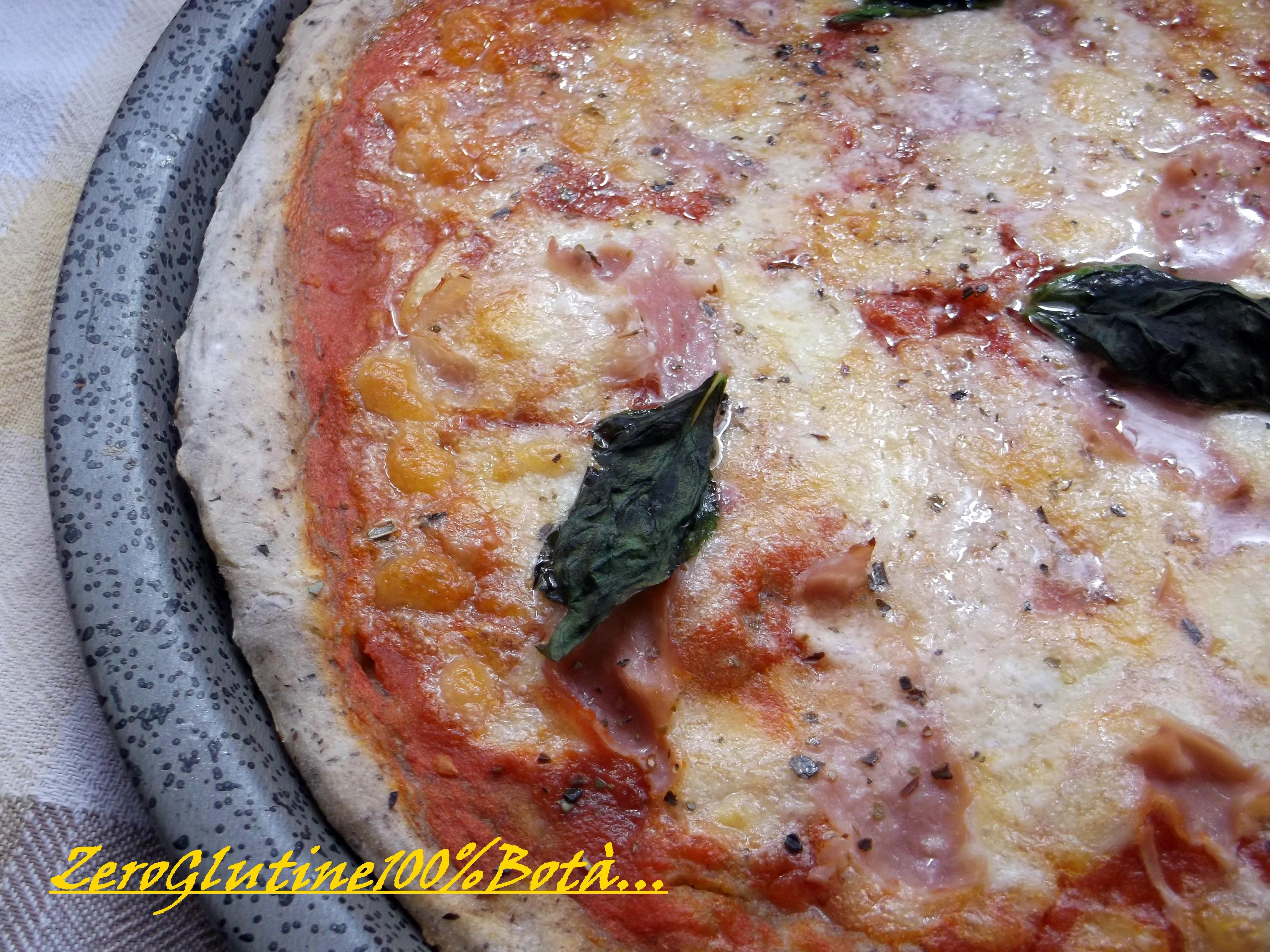Pizza senza Glutine e senza lievito (Con Farine Naturali)
