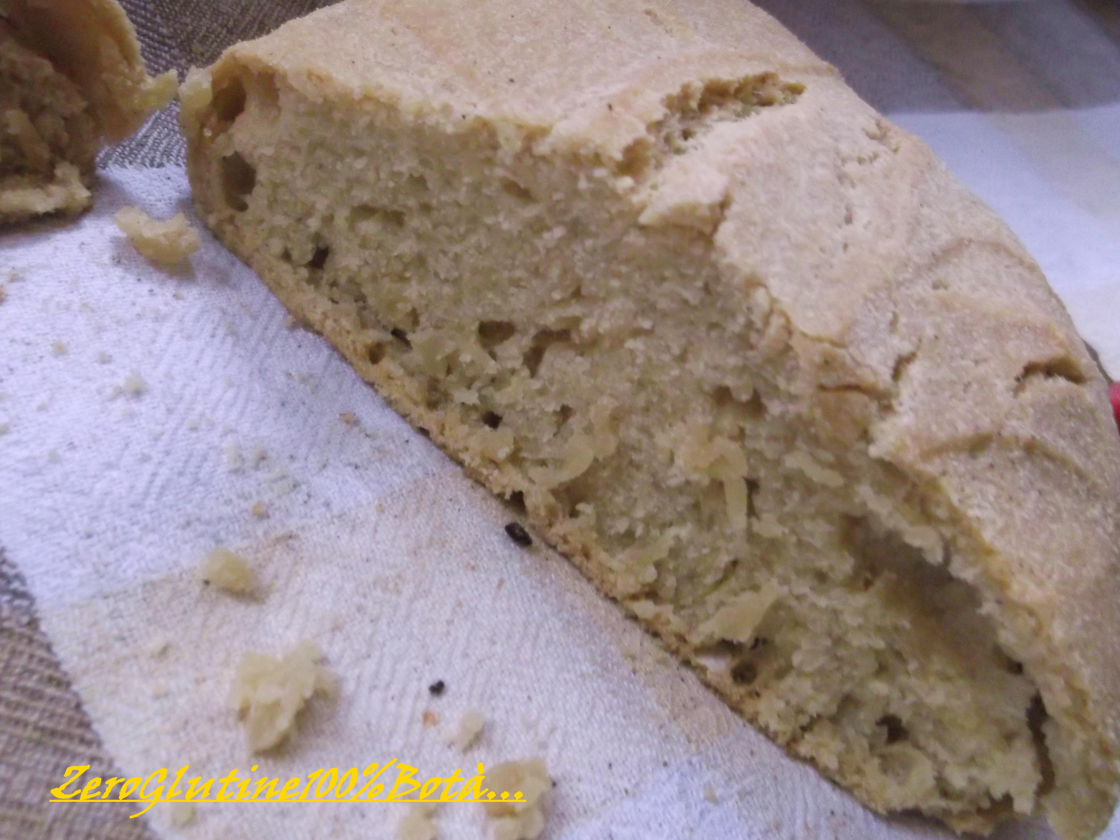 Pane Veloce senza glutine e lievito
