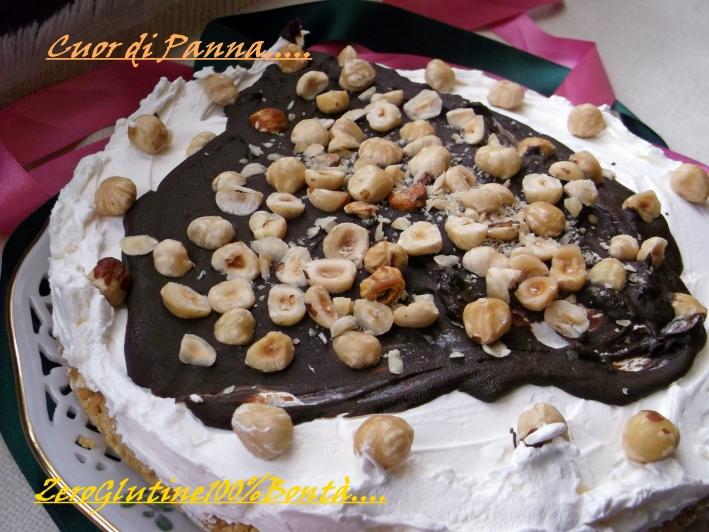 Torta Cornetto Cuor di Panna (senza Glutine)