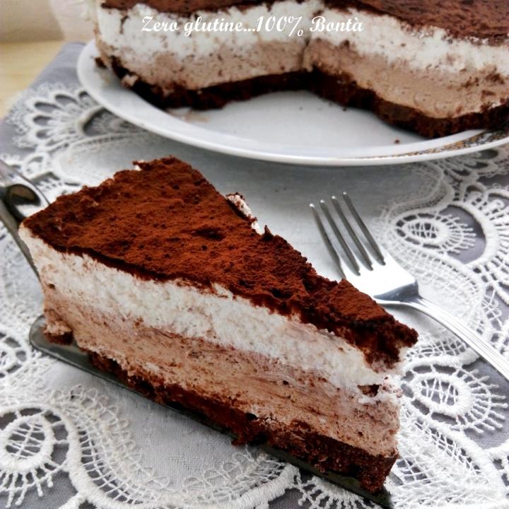 Torta fredda al mascarpone e panna