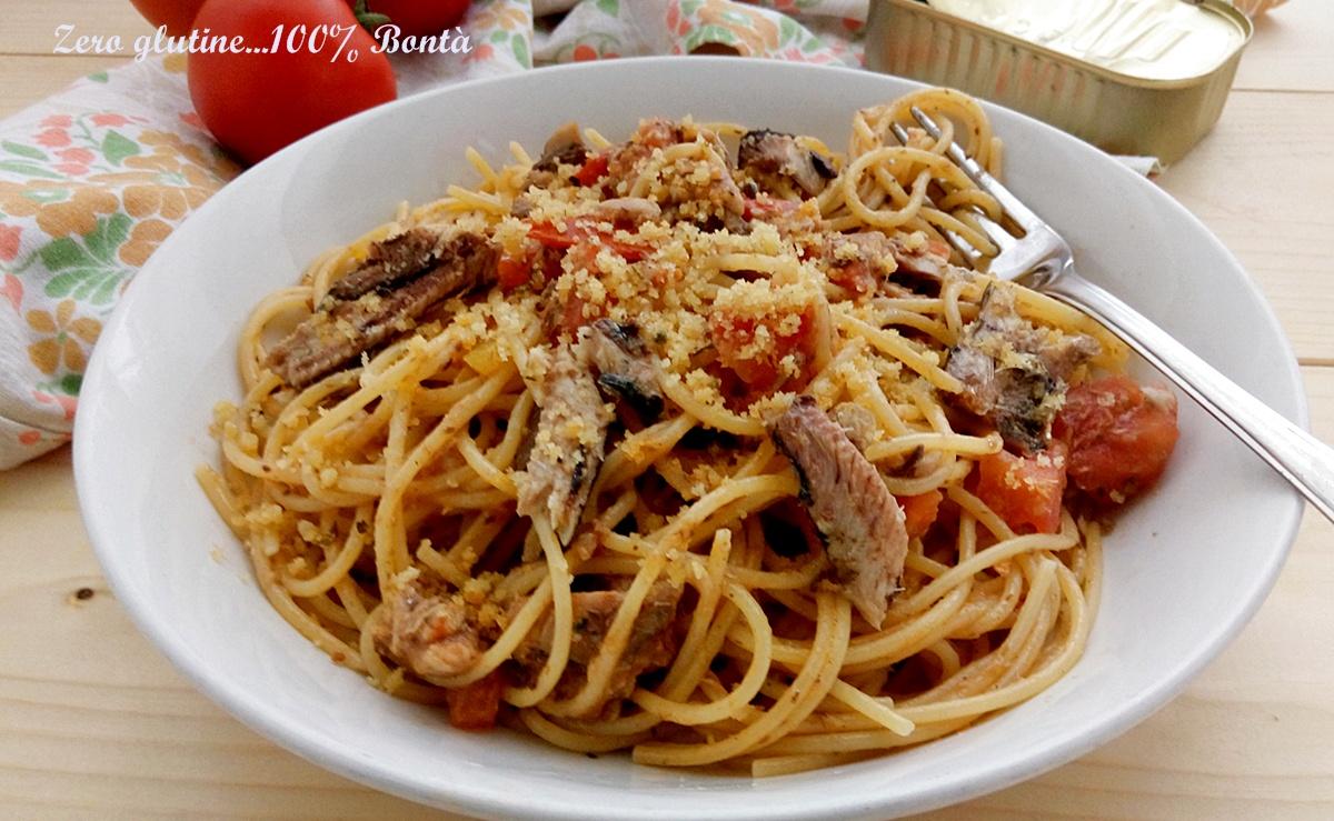 Spaghetti con le sardine in scatola for Spaghetti ricette