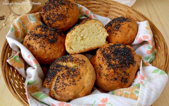 Panini con Farina di Ceci (senza Glutine)