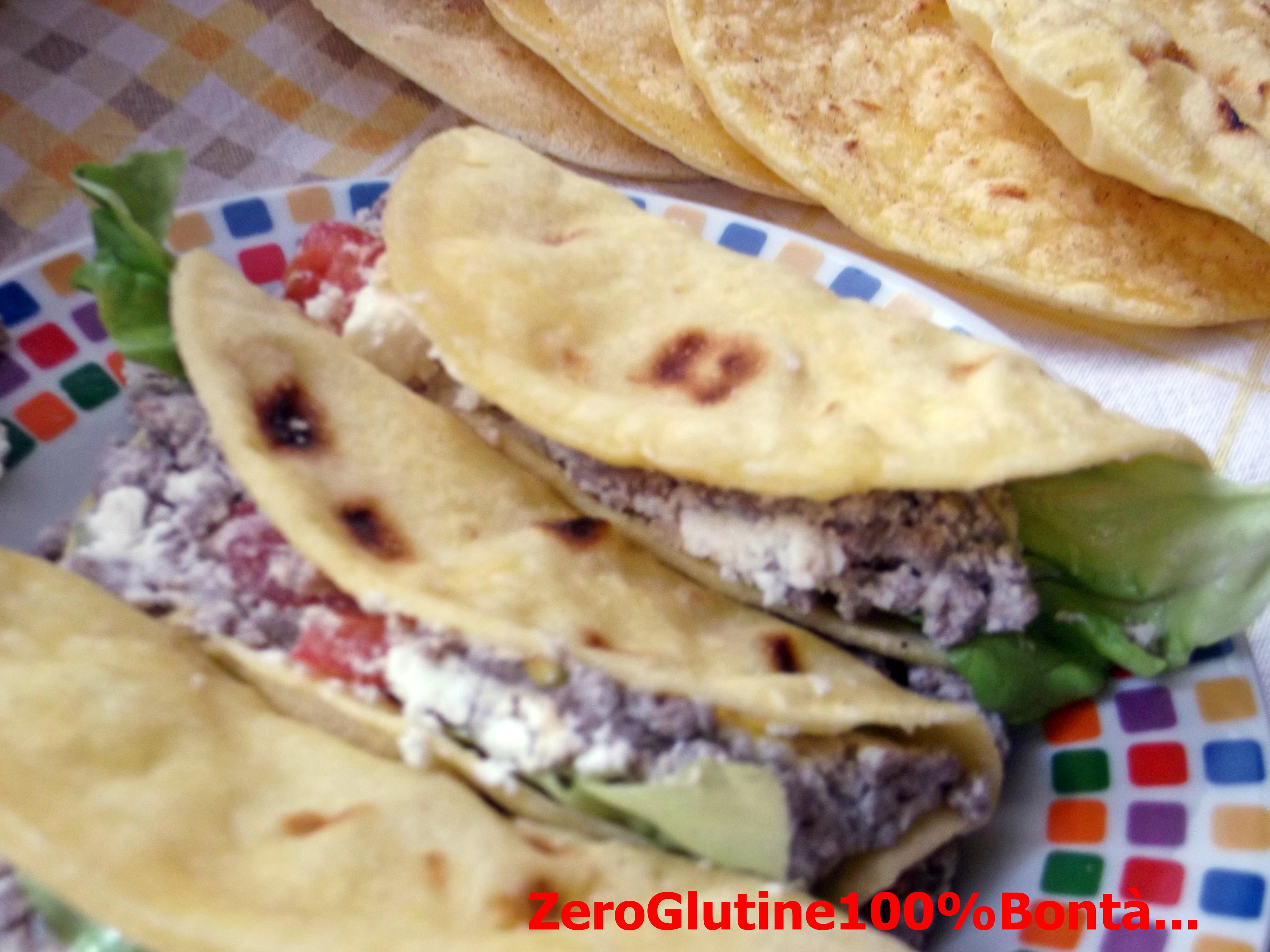 Tacos senza glutine