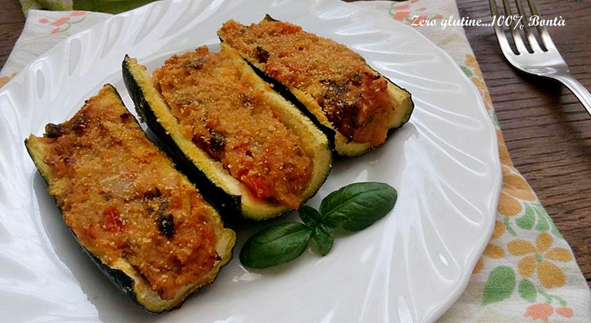 Ricetta Zucchine Ripiene Melarossa.Zucchine Ripiene Di Tonno