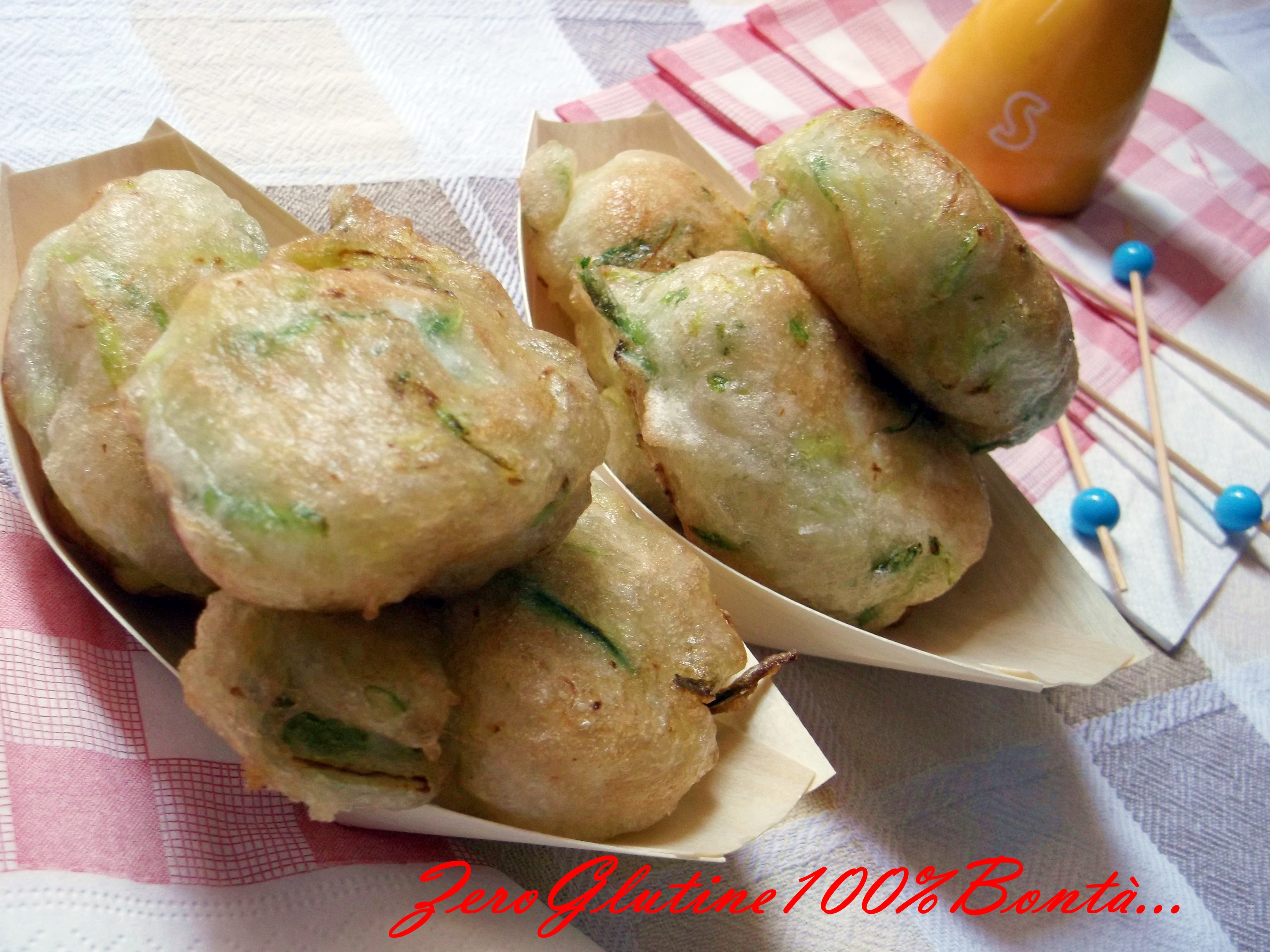 Frittelle di Zucchine