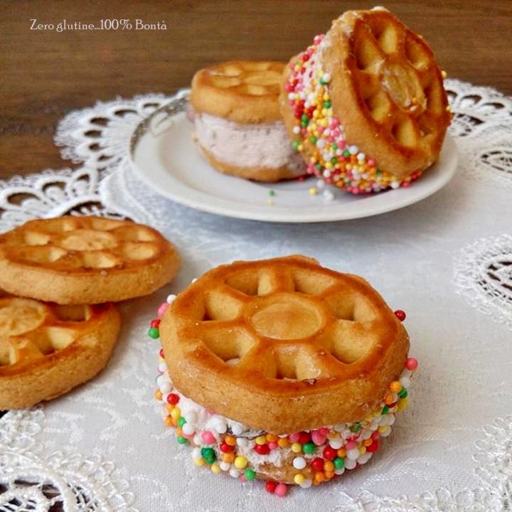 Biscotti gelato veloci