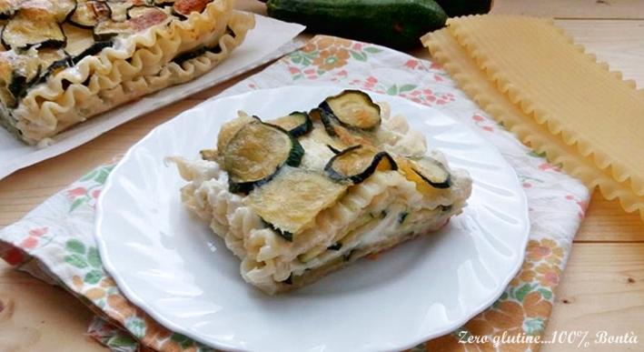 Lasagne Ricce con Zucchine e Mozzarella