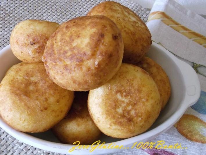 Bomboloni Salati di Patate (senza Glutine)