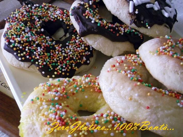 Donuts al Forno (senza Glutine)