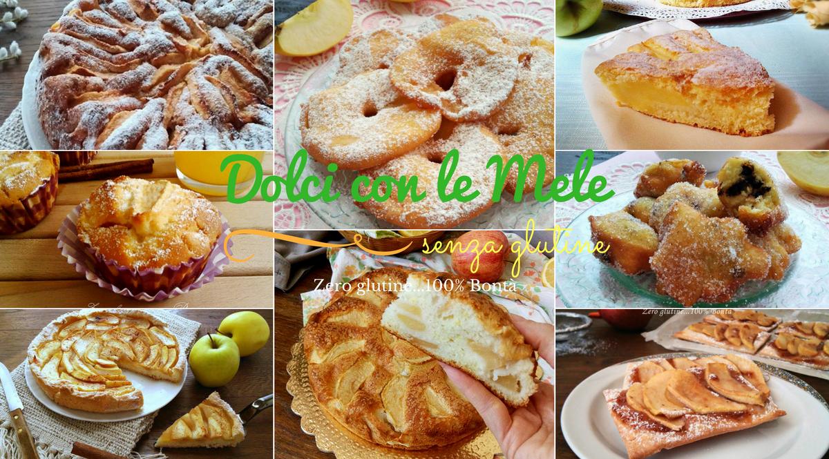 Dolci con le mele-ricette senza glutine