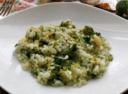 Risotto con broccoletti e pecorino