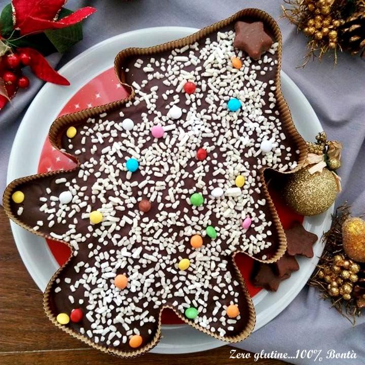 Dolce Di Natale Albero.Dolce Albero Di Natale Senza Glutine