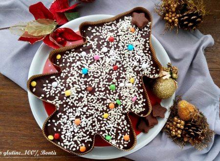 Dolce albero di Natale senza glutine