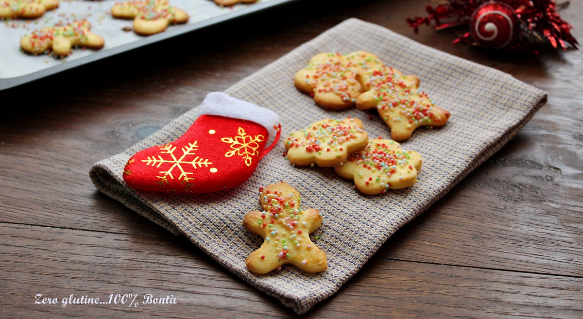 Ricetta dei biscotti Befanini senza glutine