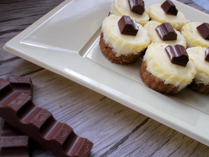 Mini CheeseCake al Cioccolato Kinder