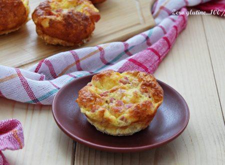 Frittatine al forno con pancetta e provolone
