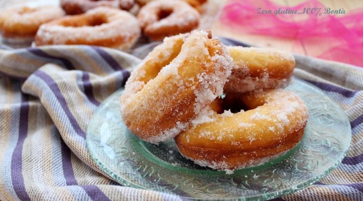 Ciambelle Fritte Senza Glutine e Senza Patate