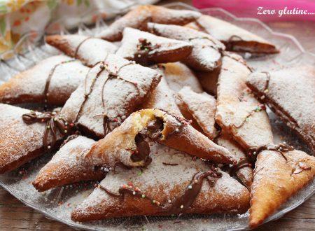 Ravioli dolci all'arancia ripieni di Nutella