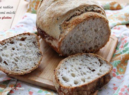 Pane rustico con semi misti senza glutine