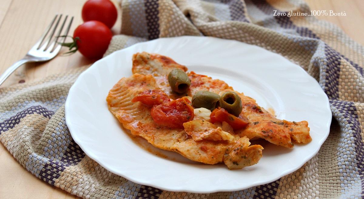 Filetti di merluzzo alla pizzaiola gustosi e facili da - Cucinare merluzzo surgelato ...