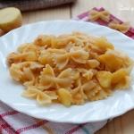 Pasta con patate e formaggio