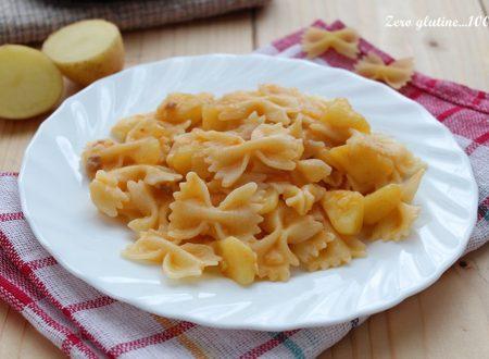 Pasta e patate con scamorza
