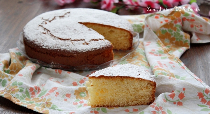 Torta Soffice allo Yogurt e Limone